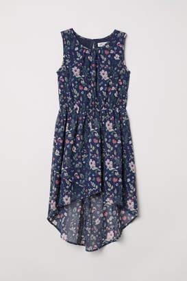 H&M Patterned Dress - Blue