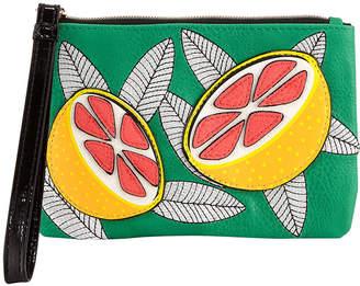 Neiman Marcus Fruit Wristlet Pouch