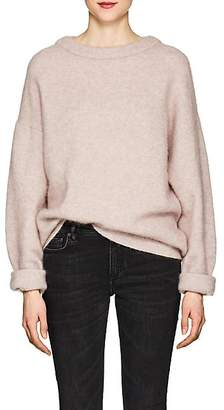 Acne Studios Women's Dramatic Wool Oversized Sweater - Pink