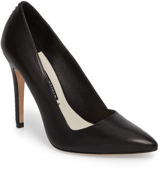 Alice + Olivia Dina 95 Whipstitch Pointy Toe Pump