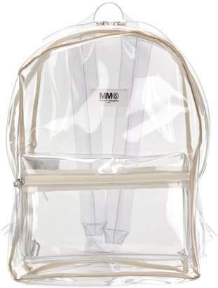MM6 MAISON MARGIELA clear backpack