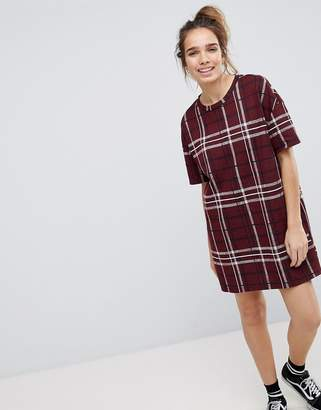 Pull&Bear Check Tunic Dress