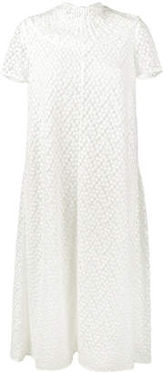 Emilia Wickstead Cecilia Embroidered Dress