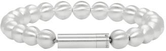 Le Gramme Silver Brushed Le 47 Grammes Beads Bracelet