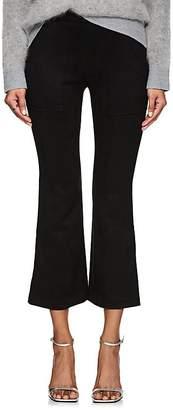 Cynthia Rowley WOMEN'S FAUX-SUEDE FLARE PANTS