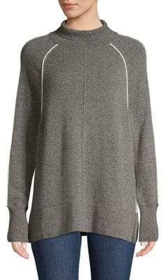 Vineyard Vines Cashmere Raglan Sleeve Turtleneck Sweater
