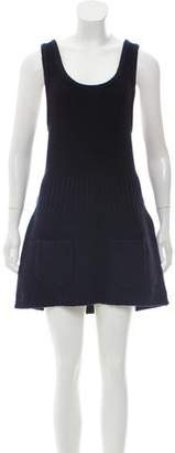 Marc by Marc Jacobs Wool Knit Mini Dress