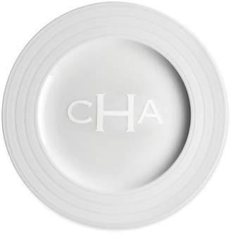 Caskata Personalized Cambridge Stripe Charger Plate