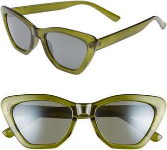 BP 50mm Square Translucent Sunglasses