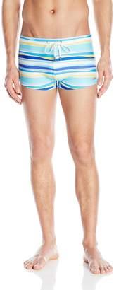 2xist Men's Cabo Pattern Swim Trunk Swimwear