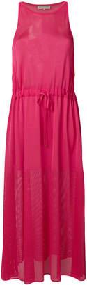 Emilio Pucci halterneck mesh maxi dress