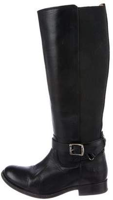 Frye Knee-High Leather Boots