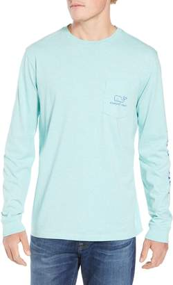 Vineyard Vines Vintage Whale Graphic Pocket T-Shirt