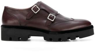 Fabiana Filippi double monk strap shoes