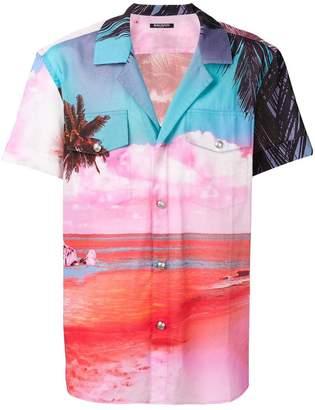 Balmain beach print shirt