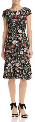 Adrianna Papell Bloom-Print Dress - 100% Exclusive