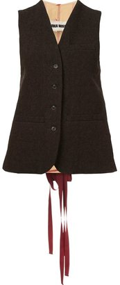 Uma Wang 'Veterano' vest $860 thestylecure.com