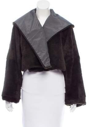Peter Cohen Sheared Mink Fur Jacket
