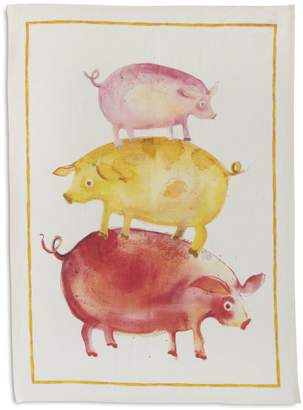 "Sur La Table Pig Linen Kitchen Towel, 28"" x 20"""