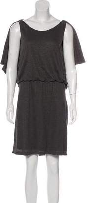 Robert Rodriguez Linen Cutout Dress