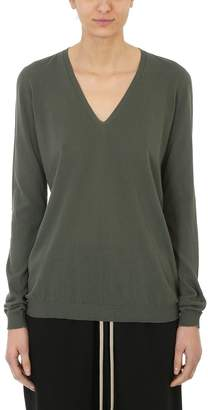 Rick Owens Soft Deep V Neck Sweater