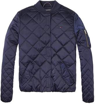 Tommy Hilfiger TH Kids Quilted Bomber Jacket