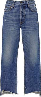 GRLFRND Denim Helena High-Rise Straight-Leg Jeans