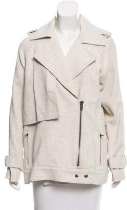 A.L.C. Notch-Lapel Long Sleeve Jacket