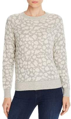 Rebecca Taylor Leopard Print Sweater - 100% Exclusive