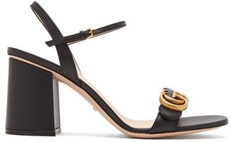 Gucci GG Marmont block-heel sandals