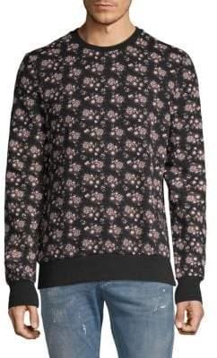Eleven Paris Corvin Floral Cotton Sweatshirt