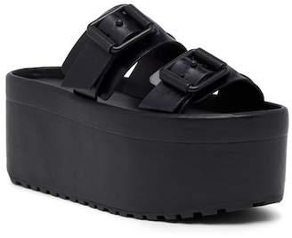 AllSaints Knox Platform Slide Sandal