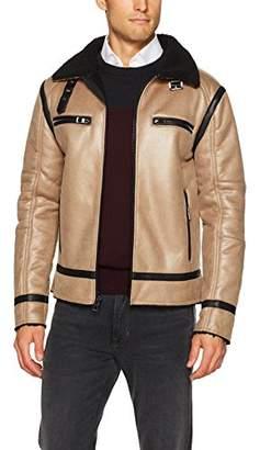 GUESS Men's Sierra Shearling Jacket