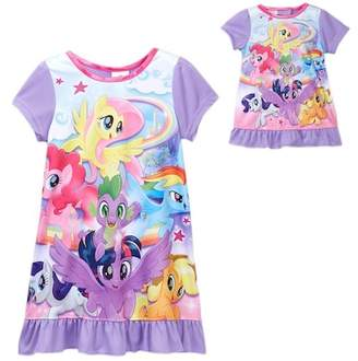 My Little Pony AME Nightgown & Doll Nightgown Set (Little Girls & Big Girls)
