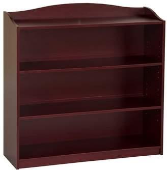 Guidecraft Cherry 4-Shelf Bookshelf