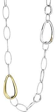Ippolita Women's Chimera Two-Tone Mixed Link Long Necklace
