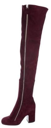 Laurence Dacade Suede Thigh-High Boots