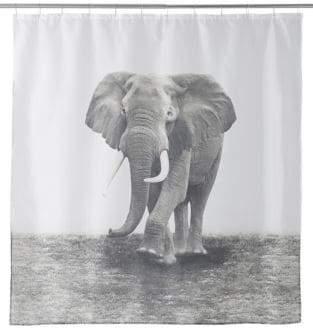 Famous Home Fashions Zarma Elephant Shower Curtain