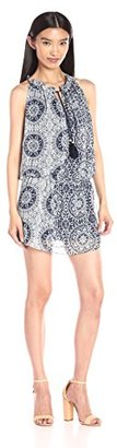 MISA Women's Chiffon Printed Mari Dress $194 thestylecure.com