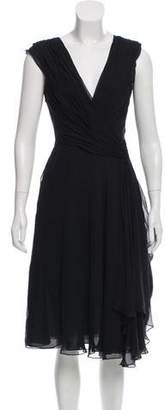 Ralph Lauren Sleeveless Gathered Dress