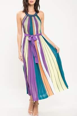 The Vintage Valet Striped Maxi Dress