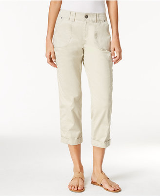 Style & Co Cropped Cargo Pants, Only at Macy's $54.50 thestylecure.com