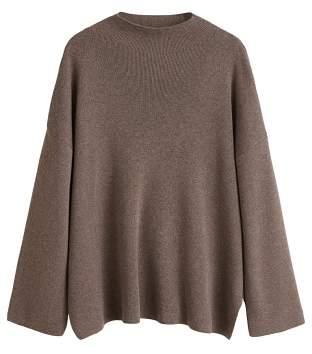 MANGO Ribbed soft sweater
