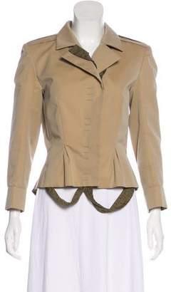 Saint Laurent Structured Button-Up Jacket