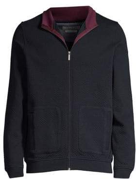 Bugatti Full-Zip Knit Sweatshirt