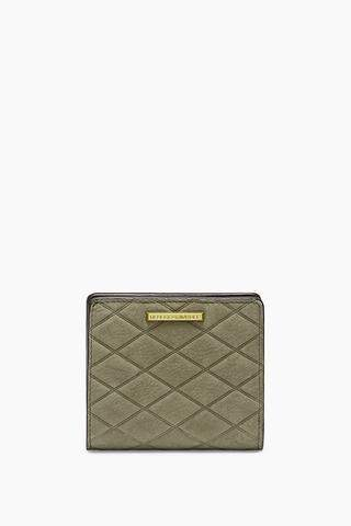 Rebecca Minkoff Embossed Nubuck Snap Wallet - ONE COLOR - STYLE