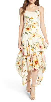 Leith Floral High/Low Dress