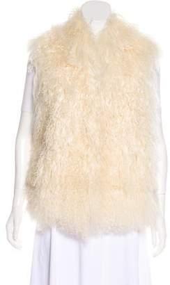 MICHAEL Michael Kors Mongolian Lamb Vest