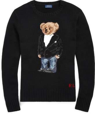 Ralph Lauren Tuxedo Bear Wool Sweater