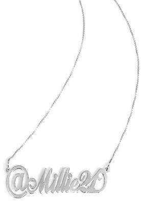 Anna Lou of London Personalised Twitter Name Necklace